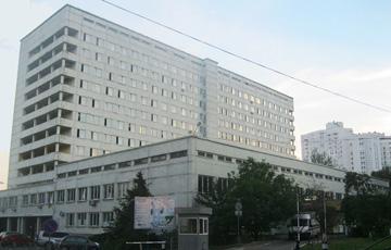 Киевская городская клиническая больница интенсивного лечения № 3 (бывшая  больница №12), г. Киев, ул. Подвысоцкого 4а